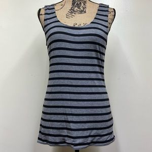 NWT Maurices Reversible Active Tank, Striped Large